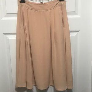 Daniel Rainn Pink Midi Skirt